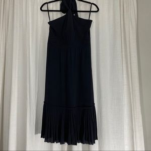 Tory Burch Sample Silk Halter Dress